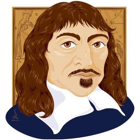 René Descartes. Elaboró El Discurso del Método. De ese libro se extraen varias de las ideas primordiales de la moderna filosofía científica, como por ejemplo: Método Cartesiano y La Duda Metódica.