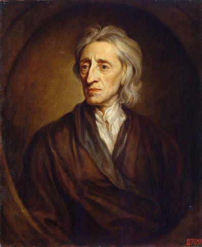 John Locke. Considerado como uno de los primeros empiristas británicos, contribuyó a la teoría del contrato social. Creía en la libertad religiosa y en la separación de la Iglesia y el Estado.