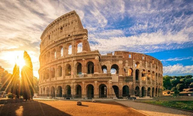Titus Finishes Colosseum