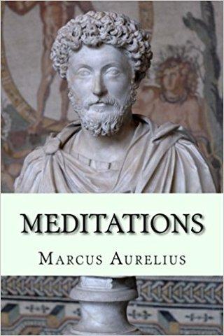 Marcus Aurelius Writes Meditations