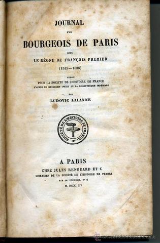 Journal d'un bourgeois