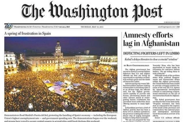 The Washington Post en Estados Unidos