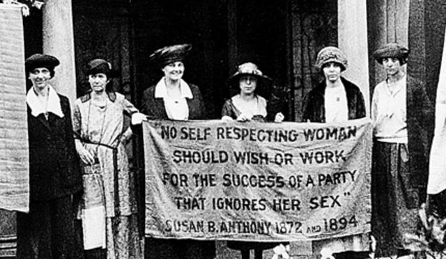 Voto para la mujer