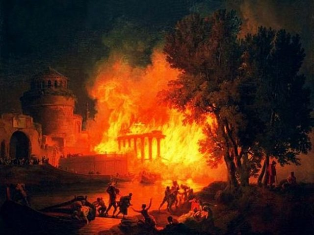 Nero and The Great Fire of Rome