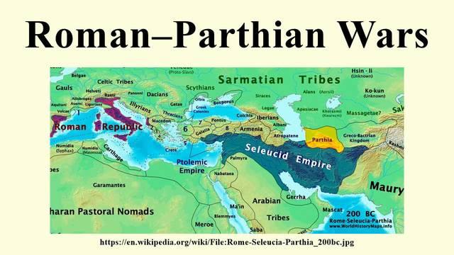 Marcus Aurelius and the Parthian Wars