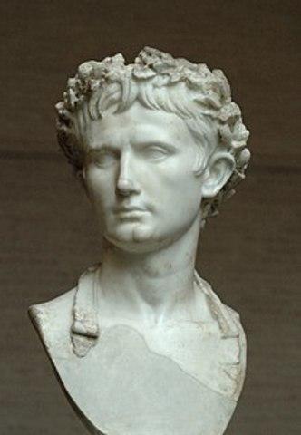 Augustus Wins the Battle of Actium.