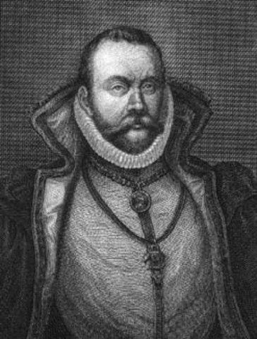 In 1566 was wounded in a duel over who was the greatest mathematician of all time. He covered the scar on the bridge of his nose with a silver/copper plate.