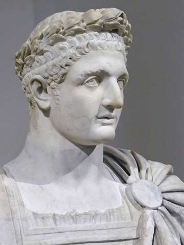 Domitian Recieves Support from Troops