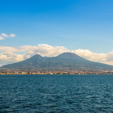 Mount Vesuvius Erupts