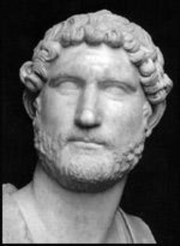 Birth of Hadrian