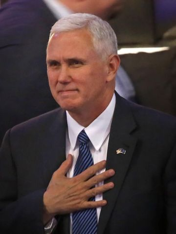 Pence remarks that the goal is for North Korea to abandon its nuclear and ballistic missile ambitions