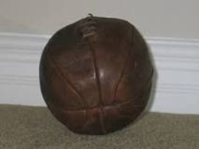 The First Soccer Ball