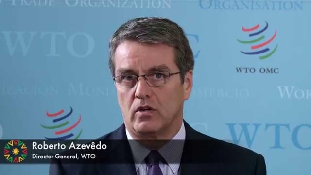 Director General de la OMC: Roberto Azevêdo