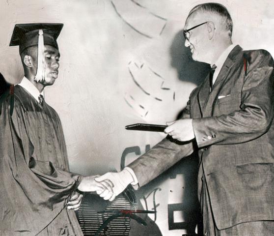 Ernest Green graduates Central High (WDC 14)