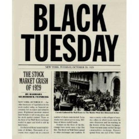 1929, Martes Negro