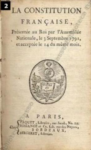 Nuova Costituzione in Francia