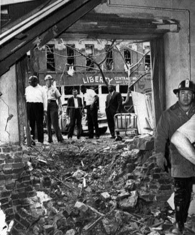 The bombing of the 16th street Baptist church (U.S 10)