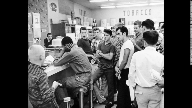 Sit-ins in Georgia, North Carolina, and Tennessee