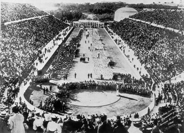 la primera olimpiada-era moderna
