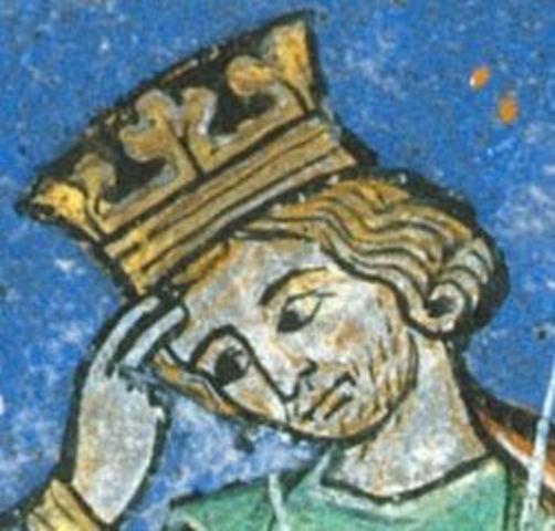 Death of King Fulk, Melisende becomes regent for Baldwin III