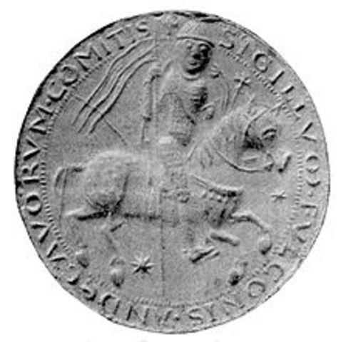 Arrival of Count Fulk V of Anjou to marry Melisende, heiress to Jerusalem