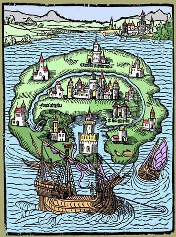 """Thomas More """"Utopie"""""""