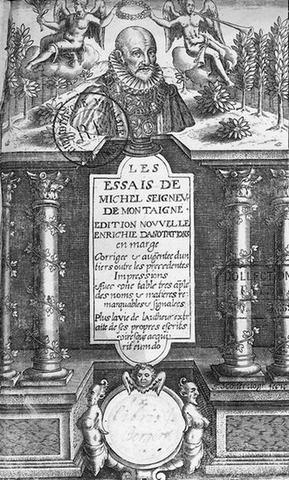 """""""Les Essais"""" de Montaigne.  """"Philosopher c'est apprendre à mourir """""""
