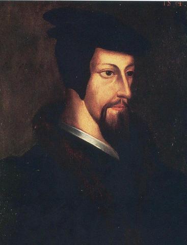 Calvin installe la Réforme à Genève