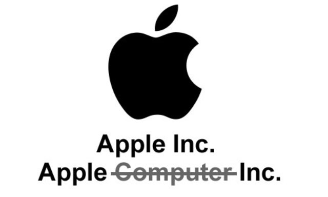 Apple Changes Names