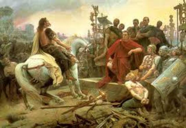 Invasión romana de Bretaña.