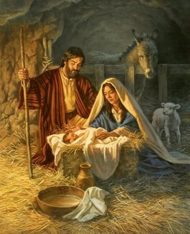 Nacimiento de Jesucristo.