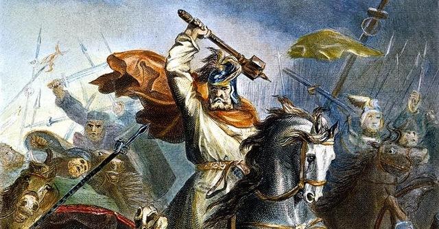 """Charles """"El martillo"""" y la batalla de Tours."""