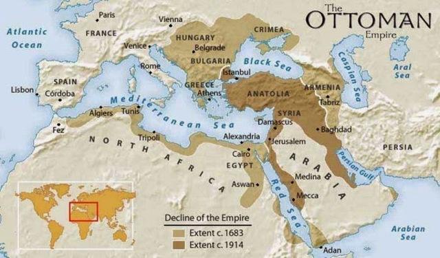Imperio turco-otomano.