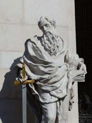 Saint Paul  « Le chef de tout homme, c'est le Christ ; le chef de la femme, c'est l'homme » (1 Cor. 11,3).