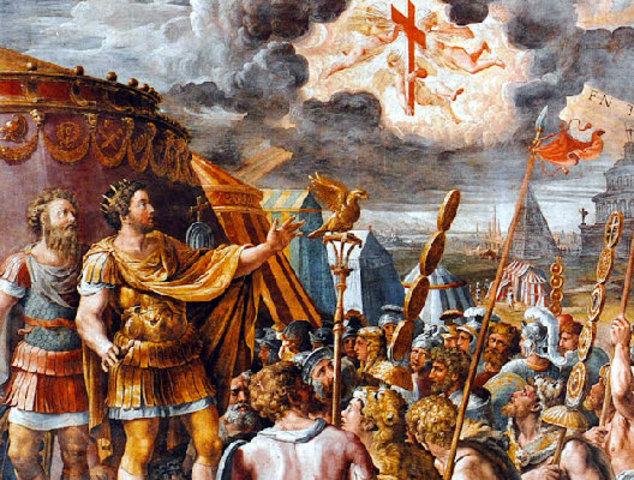 L'usurpateur Constantin prend le pouvoir à Rome et s'allie avec les chrétiens.