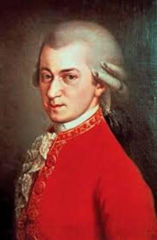 Mozart is born