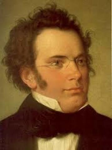 Franz Schubert is born