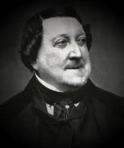 Rossini is born