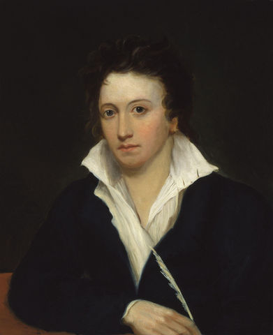 Percy Bysshe Shelley publishes Prometheus Unbound