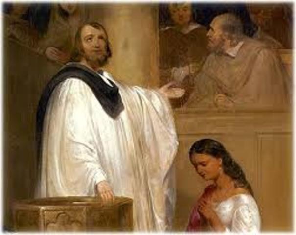 Pocahontas's Conversion to Christianity