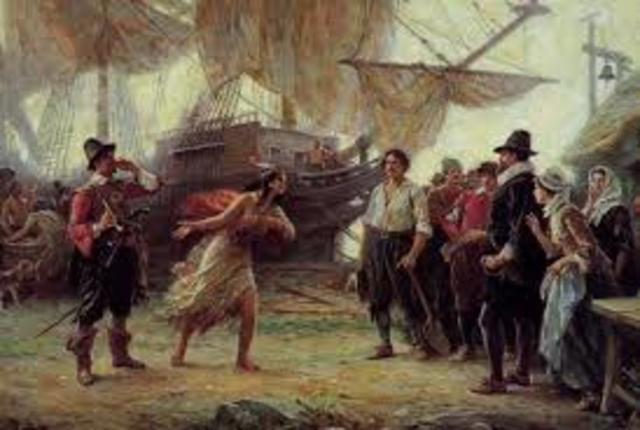 Pocahontas Year in Captivity