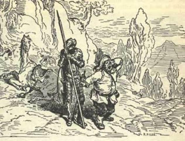 El Ingenioso Don Quijote de la Mancha (Capitulo 4) - Miguel de Cervantes
