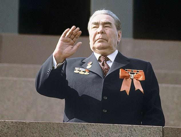 Выступление Брежнева