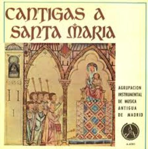 Cantigas de Santa María de Alfonso X el Santo