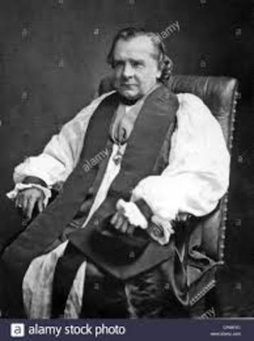 Obispo Wilberforce (Detractor de Darwin)