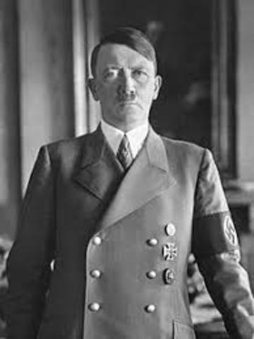 Hitler First Attends Meeting