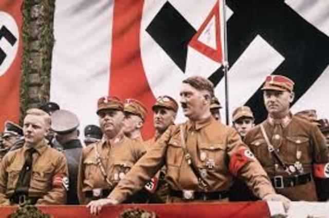 Hitler Declares Himself Fuehrer
