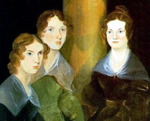 Бренуэллом написан совместный портрет сестер Бронте