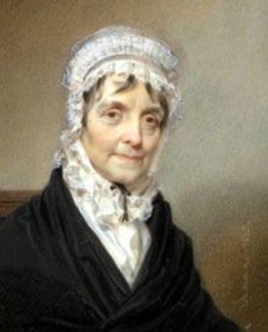 Elizabeth Schuyler Hamilton Dies