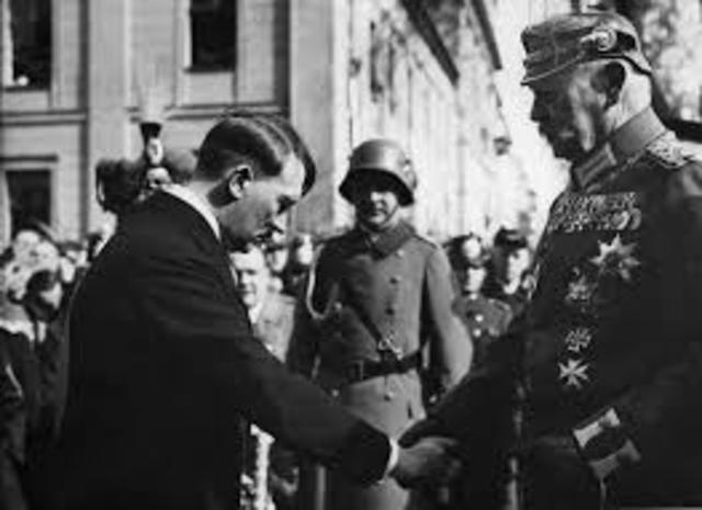 Chancellorship Upon Hitler